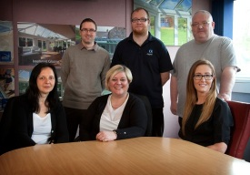 Agnes, Scott, Julie, Steven, John, Sarah - Customer Services Team